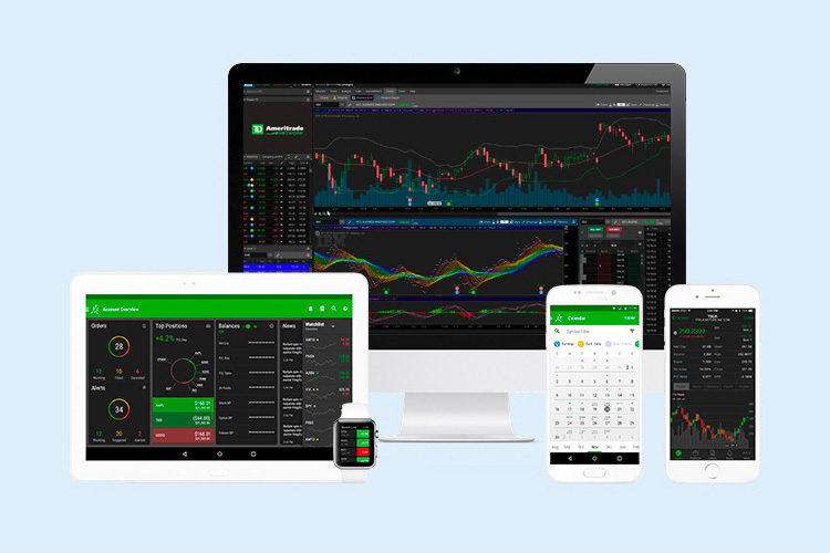 Suite of trading platforms across multiple devices